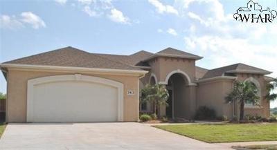 Wichita County Rental For Rent: 3413 Arrowhead Drive