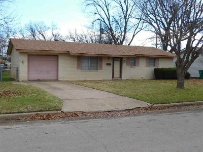 Burkburnett TX Single Family Home For Sale: $74,500
