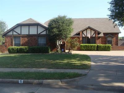 Wichita County Rental For Rent: #5 Red Bluff Street