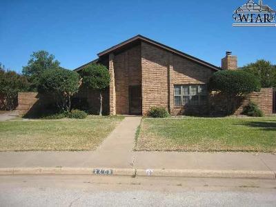 Wichita Falls Single Family Home For Sale: 2406 Bryan Glen Street