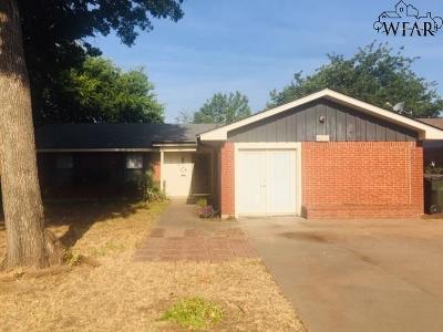 Wichita Falls Single Family Home For Sale: 4612 Summit Drive