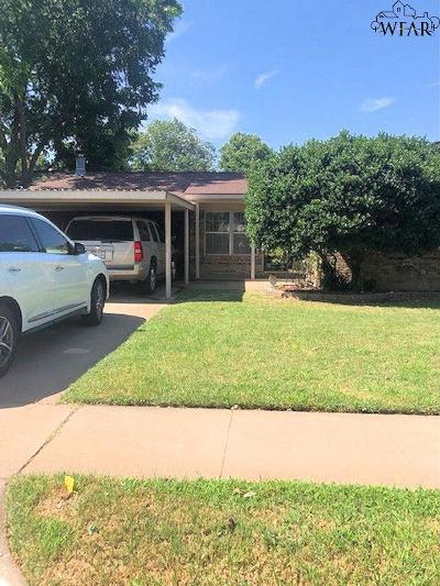 Wichita Falls Single Family Home For Sale: 4710 Karla Street