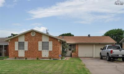 Wichita Falls Single Family Home For Sale: 4708 Gay Street