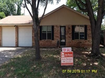 Wichita Falls Single Family Home For Sale: 4847 Angelina Avenue