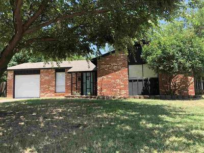 Wichita Falls Single Family Home For Sale: 4604 Tradewinds Road