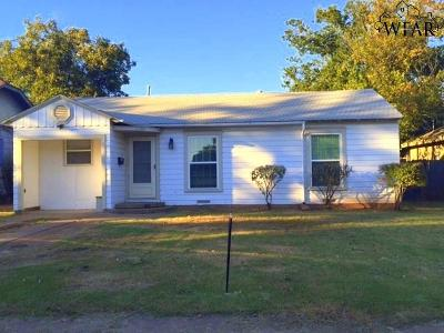 Wichita County Rental For Rent: 1630 Collins Avenue