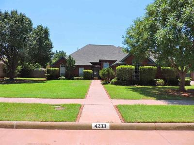 Wichita County Single Family Home For Sale: 4233 Canyon Trails Drive
