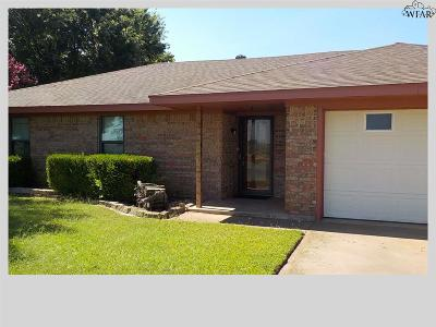 Wichita County Rental For Rent: 1218 Sycamore Drive