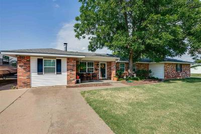 Wichita Falls Single Family Home Active W/Option Contract: 4102 Abbott Avenue