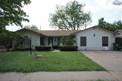 Wichita County Rental For Rent: 4620 Summit Drive
