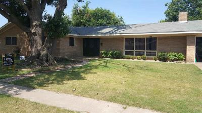 Burkburnett Single Family Home Active W/Option Contract: 904 Easy Street
