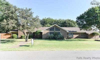 Archer County, Baylor County, Clay County, Jack County, Throckmorton County, Wichita County, Wise County Single Family Home For Sale: 306 Seabea Drive