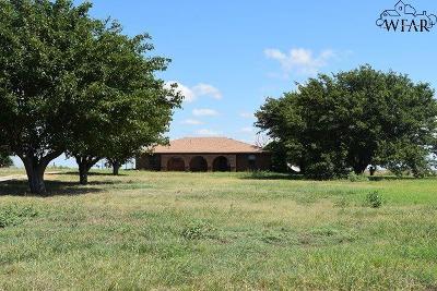 Burkburnett TX Single Family Home For Sale: $160,000