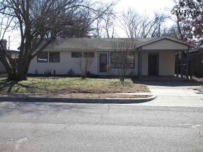 Wichita County Rental For Rent: 4205 Thomas Avenue