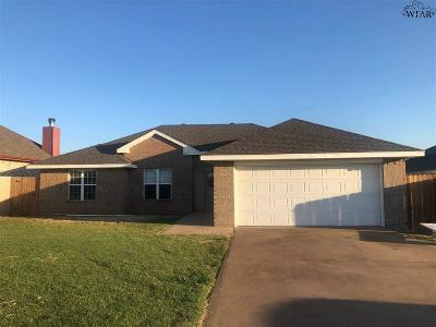 Wichita County Single Family Home For Sale: 609 E Texas Avenue