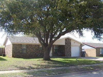 Wichita Falls Single Family Home For Sale: 1830 Adrian Avenue