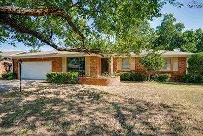 Wichita Falls Single Family Home For Sale: 2708 Devon Road