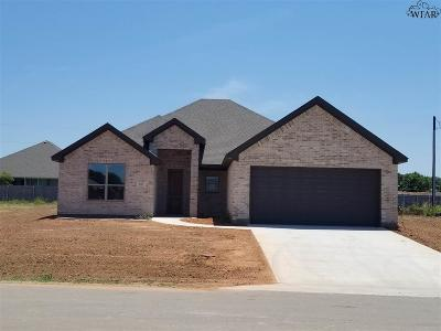Wichita Falls Single Family Home For Sale: 327 Mariners Way