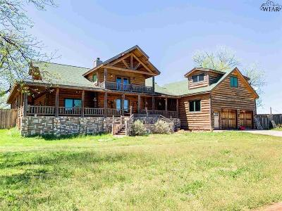 Baylor County Single Family Home For Sale: 3702 W Hwy 82