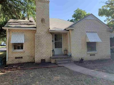 Wichita Falls Single Family Home For Sale: 1910 Lucile Avenue