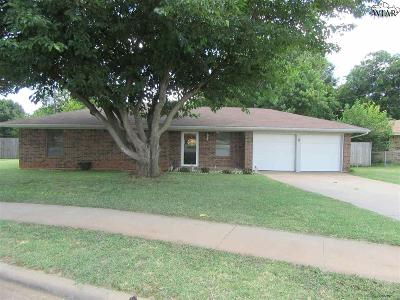 Wichita Falls Single Family Home For Sale: 2 Smoke Rise Circle