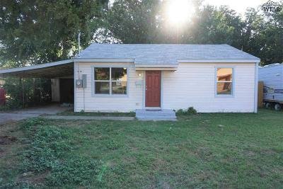 Wichita County Rental For Rent: 124 Avenue E