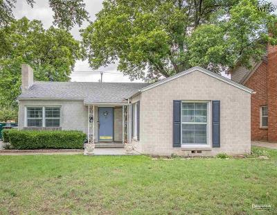 Single Family Home Active W/Option Contract: 2412 Speedway Avenue