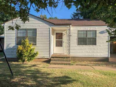 Wichita Falls Single Family Home For Sale: 1615 Oceola Avenue