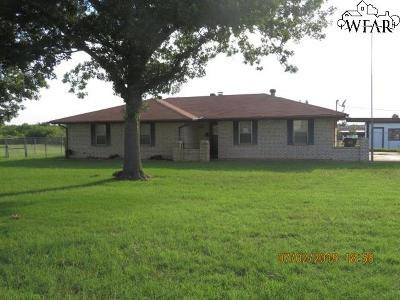 Wichita Falls Single Family Home For Sale: 1506 City View Drive