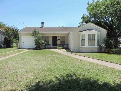 Wichita Falls Single Family Home For Sale: 2219 Wenonah Avenue