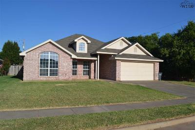Wichita Falls Single Family Home For Sale: 5806 Lerma Lane