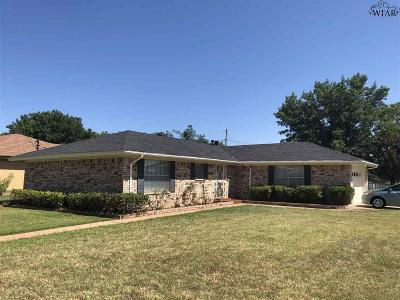 Wichita Falls Single Family Home For Sale: 1621 Aldrich Avenue