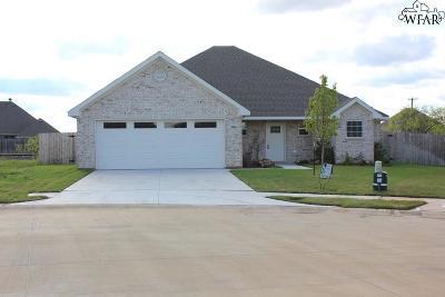 Wichita County Single Family Home For Sale: 3906 Alexandria Street