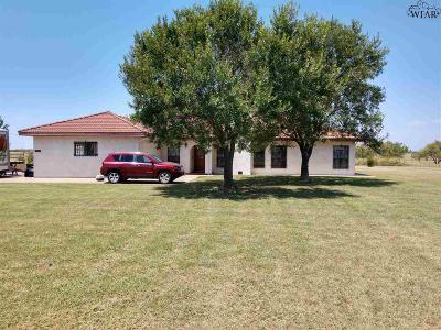 Wichita Falls Single Family Home For Sale: 7957 Carriage Lane