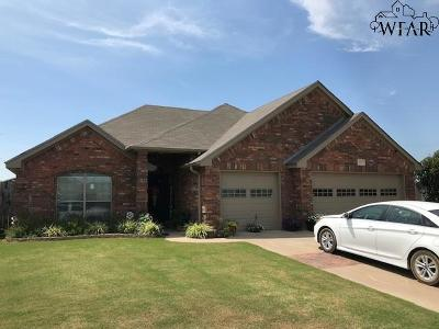 Wichita Falls Single Family Home For Sale: 4819 Eagles Landing