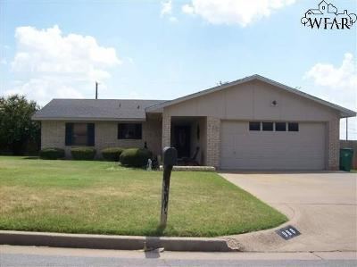 Burkburnett Single Family Home For Sale: 988 Victoria Drive