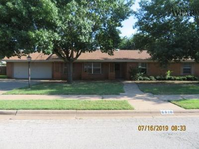 Wichita Falls Single Family Home For Sale: 6610 David Street