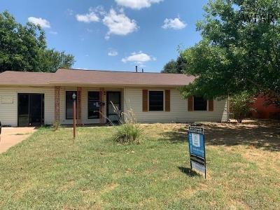 Wichita Falls Single Family Home For Sale: 4620 Tradewinds Road