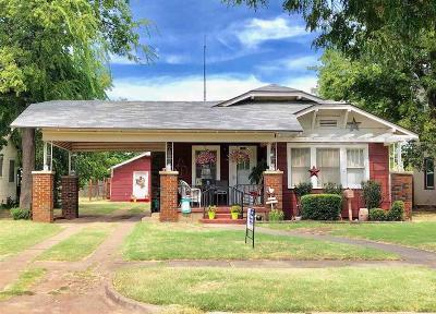 Wichita Falls Single Family Home Active W/Option Contract: 1904 Tilden Street