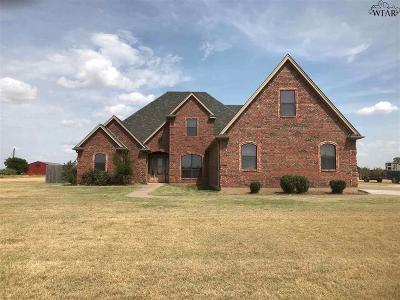 Wichita Falls Single Family Home For Sale: 855 Fm 2650