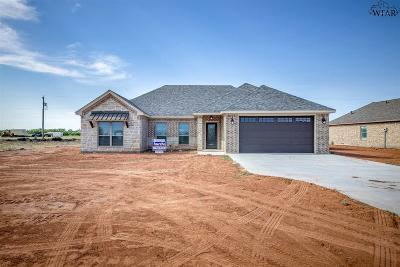 Holliday TX Single Family Home Active W/Option Contract: $259,500