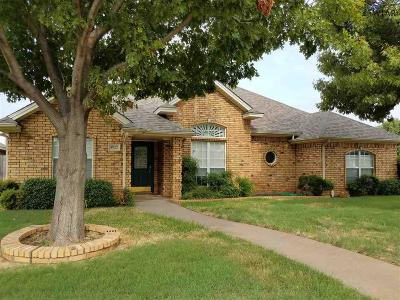 Wichita Falls Single Family Home For Sale: 4822 Olympic Drive