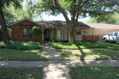 Wichita Falls Single Family Home For Sale: 1607 Celia Drive