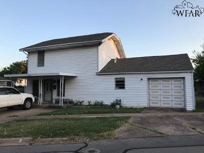 Wichita Falls Single Family Home For Sale: 2811 10th Street