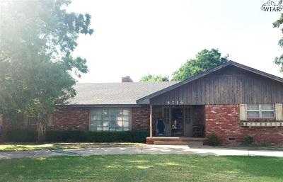 Wichita Falls Single Family Home For Sale: 6716 General Custer Drive
