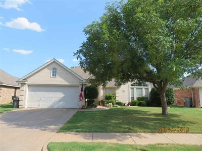 Wichita Falls Single Family Home Active W/Option Contract: 5108 Sunnybrook Lane