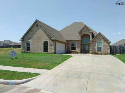 Wichita Falls Single Family Home For Sale: 1708 Shoal Creek Drive