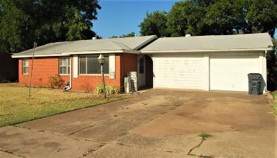 Wichita Falls Single Family Home For Sale: 2018 Burroughs Street
