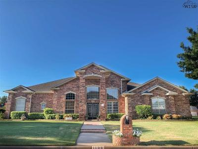 Burkburnett Single Family Home For Sale: 1108 Dove Lane