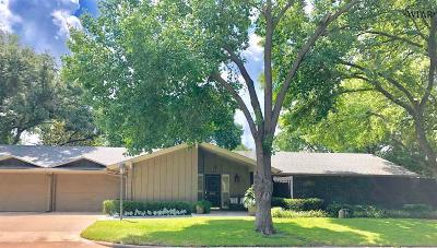 Wichita Falls Single Family Home Active W/Option Contract: 2515 Beefeater Drive